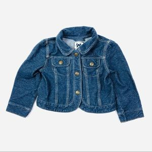 Gymboree Toddler Girls Jean Jacket Denim Blue